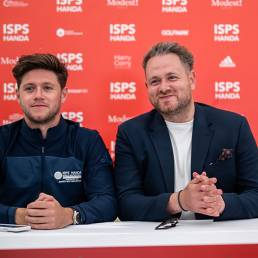 Modest! Golf's Niall Horan and Mark McDonnell